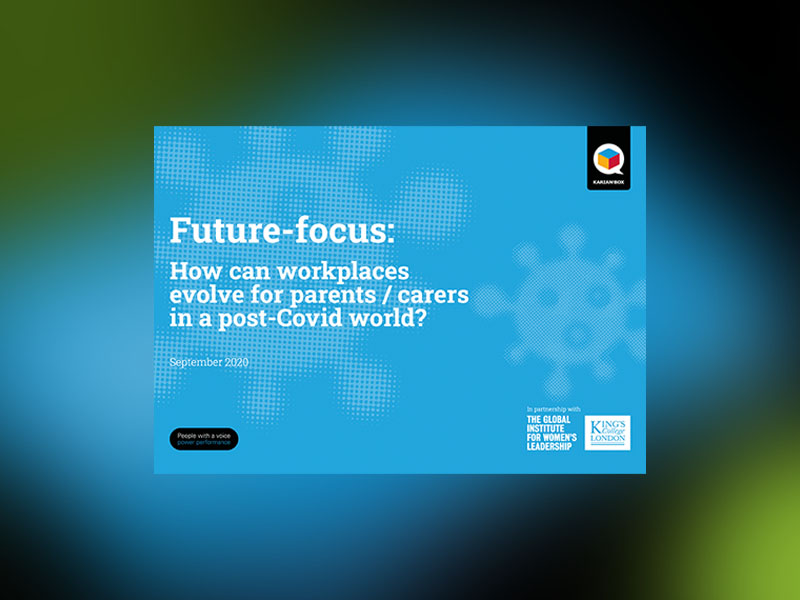 Future focus: how can workplaces evolve for parents and carers in a post-Covid world?